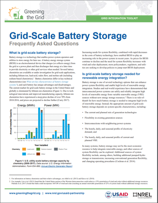 Grid-Scale Battery Storage: Frequently Asked Questions