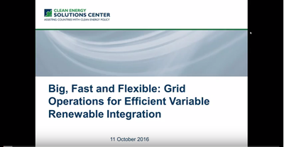 Big, Fast, and Flexible: Grid Operations for Efficient Variable Renewable Integration