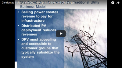 Distributed Solar on the Grid: Key Opportunities and Challenges