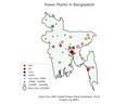 Bangladesh power plant map