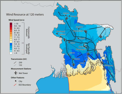 Bangladesh_wind_assessment (wind resource map)