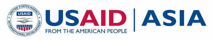 Logo for USAID Asia program