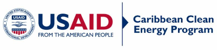 USAID logo for clean energy program caribbean