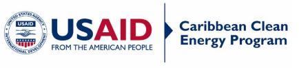 USAID logo for clean energy program caribbean