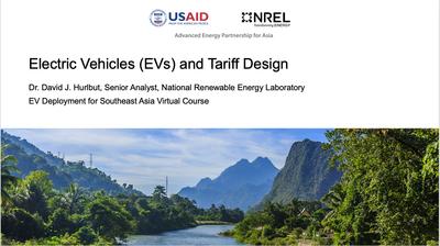 Module 3, Unit 1 — Electric Vehicles and Tariff Design
