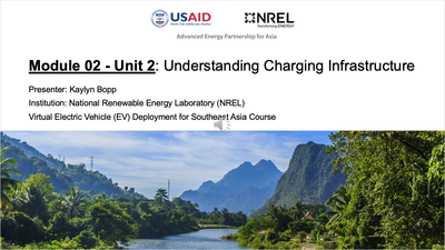 Module 2, Unit 2 — Understanding Charging Infrastructure