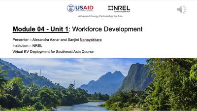 Module 4, Unit 1 — Workforce Development