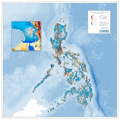 Philippines Wind Speed at 100 m
